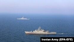 Iranski i ruski brodovi učestvuju u vežbi u Indijskom okeanu