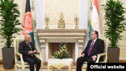د تاجکستان جمهور رئیس له ولسمشر غني سره د خبرو پر مهال