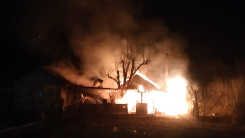 На пожаре в Бахчисарайском районе обнаружили тело мужчины– спасатели