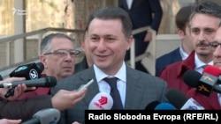 VMRO-DPMNE leader Nikola Gruevski