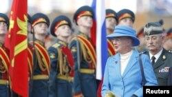 Прибывшую с официальным визитом в Россию королеву Дании ожидают, помимо прочего, в подмосковном городе Железнодорожный.