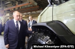 Putin made his announcement during a visit to the Gorky Automobile Plant (GAZ) in Nizhny Novgorod, where one workman just happened to ask him if he had plans to run again for president.