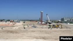 Armenia -- The site of a new power plant built by a German-Italian consortium in Yerevan, July 12, 2019.