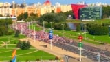 Belarusians Continue To March Against Lukashenka