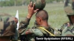 Военнослужащий Кыргызстана. Иллюстративное фото