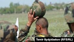 Военнослужащий Кыргызстана. Иллюстративное фото.