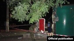 Взрыв в Одессе в ночь на 12 июня , фото МВД Украины