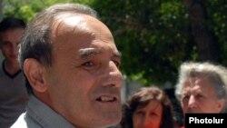 Мурад Боджолян сразу после освобождения, 10 июня 2011 г.