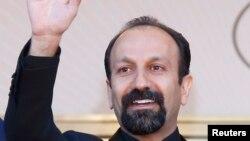 Режиссер Асгар Фархади во время Международного кинофестиваля в Каннах, май 2013 года.
