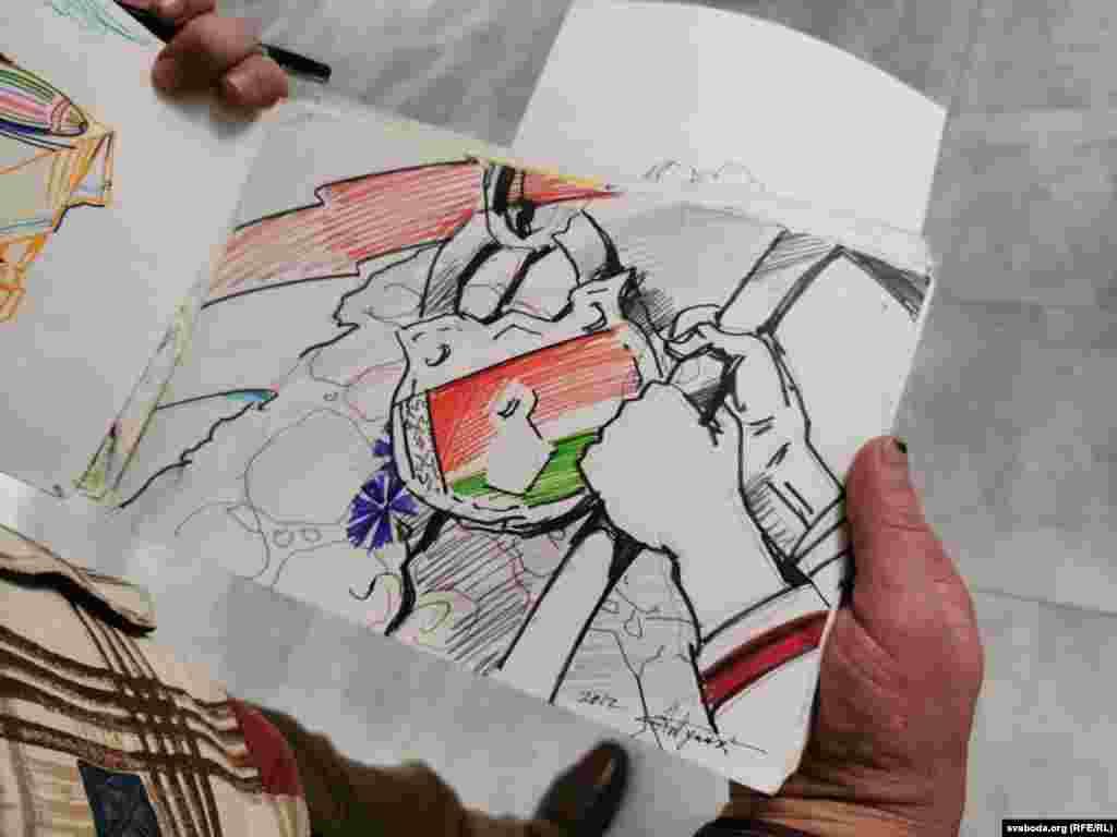 На тым паходзе пэрфоманс ня скончыўся: ужо ў сьнежні ў Менску Алесь Пушкін пайшоў абскарджваць вырак у Вярхоўным судзе — зноў з партрэтам Лапіцкага ў руках. Яго зноў затрымалі і таемна асудзілі на 12 сутак арышту за несанкцыянаваную акцыю