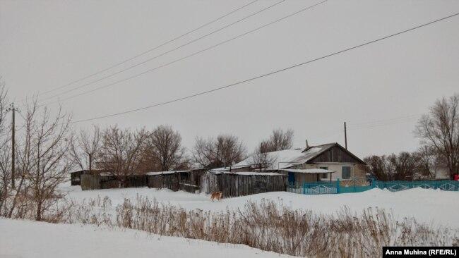 Поселок Уфимовский в Саратовской области