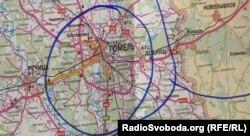 Гомельський напрямок близький до українського кордону