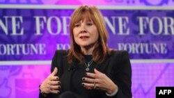 General Motors компаниясының жаңа бас директоры Мэри Барра.