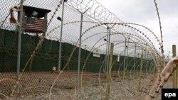 """Лагерь """"Дельта"""", военно-морская база США в Гуантанамо на Кубе"""