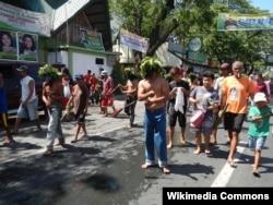Filippində zəncirvurma
