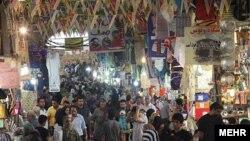 نمایی از بازار تهران