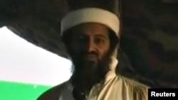 World -- A grab from previously unreleased video shows slain former Al-Qaeda chief Osama bin Laden, 12Se2011