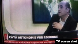 Sabin Gherman la postul TV Transilvania Live din Cluj.