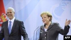 Angela Merkel i Boris Tadić, 16. novembar 2009.
