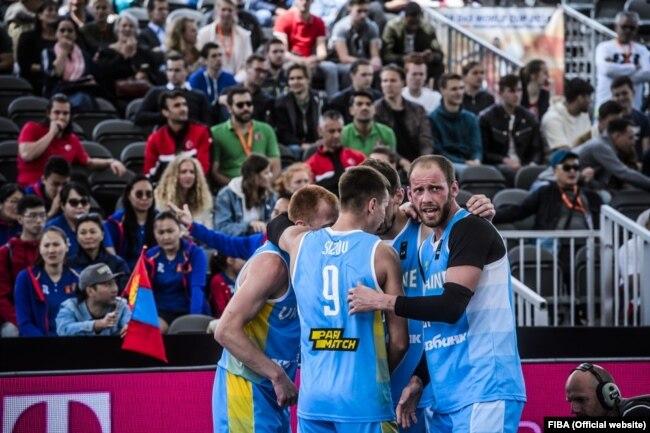 Чоловіча збірна України на світовій першості з баскетболу 3х3