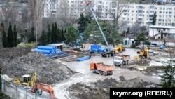 Реконструкция стадиона «Горняк», декабрь 2018 года