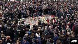 Minut ćutnje na centralnom trgu u Briselu