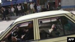 شهر درعا در جنوب سوریه، ۲۳ مارس ۲۰۱۱.