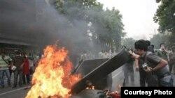 آغاز اعتراضها در ایران؛ برخی از نخستین تصاویر از ۲۳ تا ۲۵ خردادماه