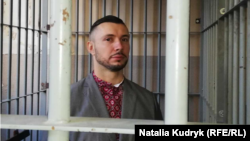 Колишній нацгвардієць Віталій Марків на суді. Павія, 15 березня 2019 року