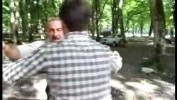 Jurnalist çəkiliş zamanı təzyiqə məruz qalıb...