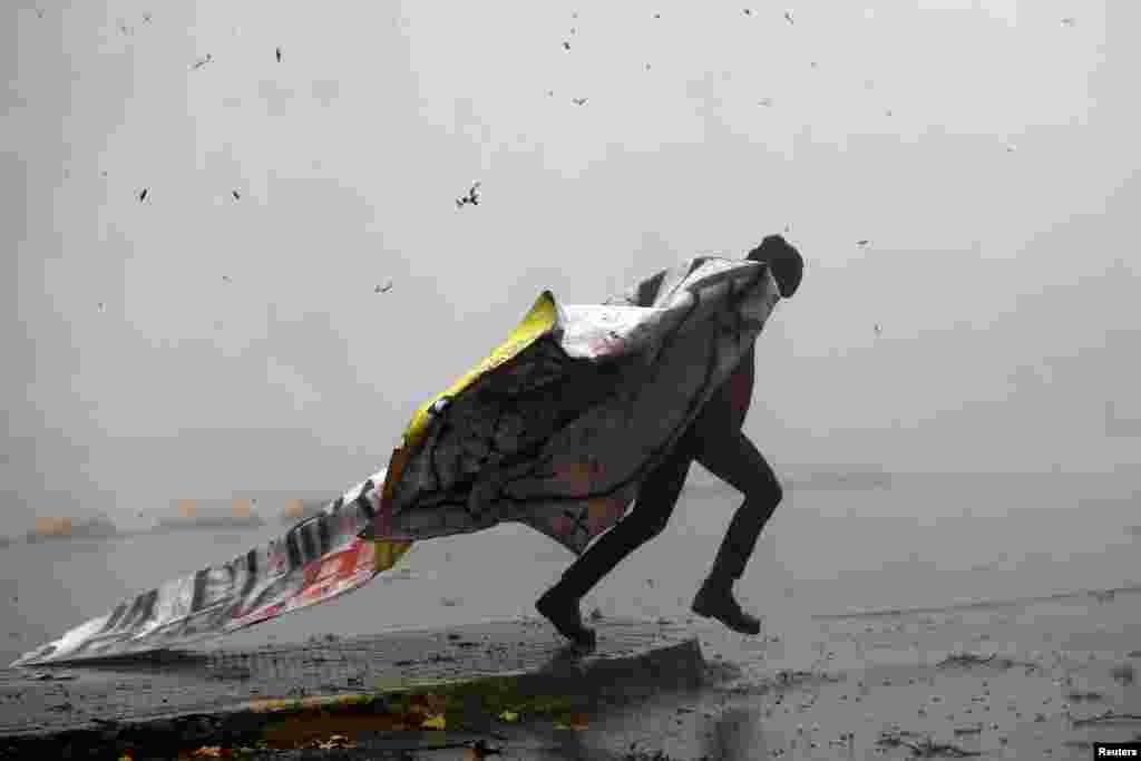5 мая чилийские студенты в очередной раз вышли на улицы Сантьяго, они недовольны реформой системы образования