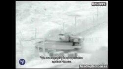 İsrail ordusu Qəzzaya tanklarla girərkən çəkilən video