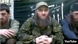 A screen grab of Chechen insurgent Doku Umarov from a video posted on You Tube in December, just hours after Chechen Republic head Ramzan Kadyrov told journalists in Moscow that the Islamist rebel was dead.