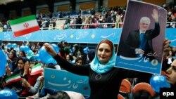 Ирандагы реформачылардын шайлоо өнөктүгү. 20-февраль, 2016-жылы тартылган сүрөт.