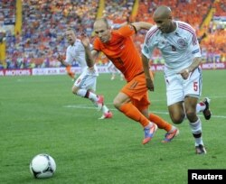 Голландия - Дания матчынан көрініс. Харьков, 9 маусым 2012 жыл