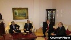Lideri četvorke u Mostaru 27. decembra 2012.