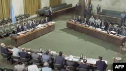 جنيف: مباحثات ايران والعراق بعد وقف اطلاق النار في آب 1988
