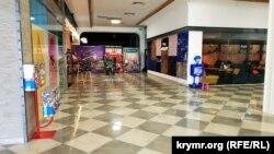 Кинотеатр «Люмен» в ТЦ «Центрум», Симферополь, 25 марта 2020 год
