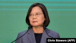 Претседателката на Тајван, Цаи Инг-вен