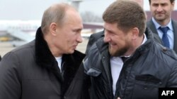 Владимир Путин и Рамзан Кадыров, архивное фото