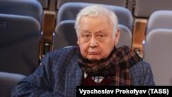 Олег Табаков, советский и российский актер и режиссер. Москва, 15 сентября 2016 года.