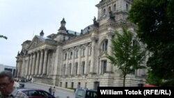 Здание Бундестага Германии в Берлине