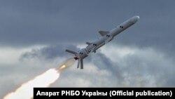 Крылатая ракета ўкраінскай вытворчасьці