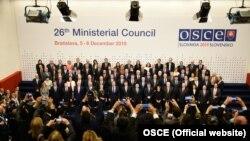 Miniștrii de externe din țările membre ale OSCE, la finalul Consiliului ministerial de la Bratislava