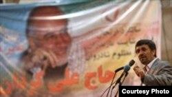 سخنرانی محمود احمدی نژاد در دومین مراسم سالگرد علی کردان، وزیر کشور اسبق ایران، در ساری.