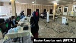 Голосование в городе Оше. Иллюстративное фото.