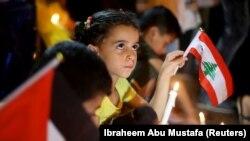 Sveće za Bejrut u Pojasu Gaze