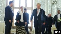 هيئت پارلمانی اتحاديه اروپا در تهران
