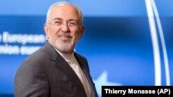 Իրանի ԱԳ նախարար Մոհամադ Ջավադ Զարիֆը Բրյուսելում, 15-ը մայիսի, 2018թ․