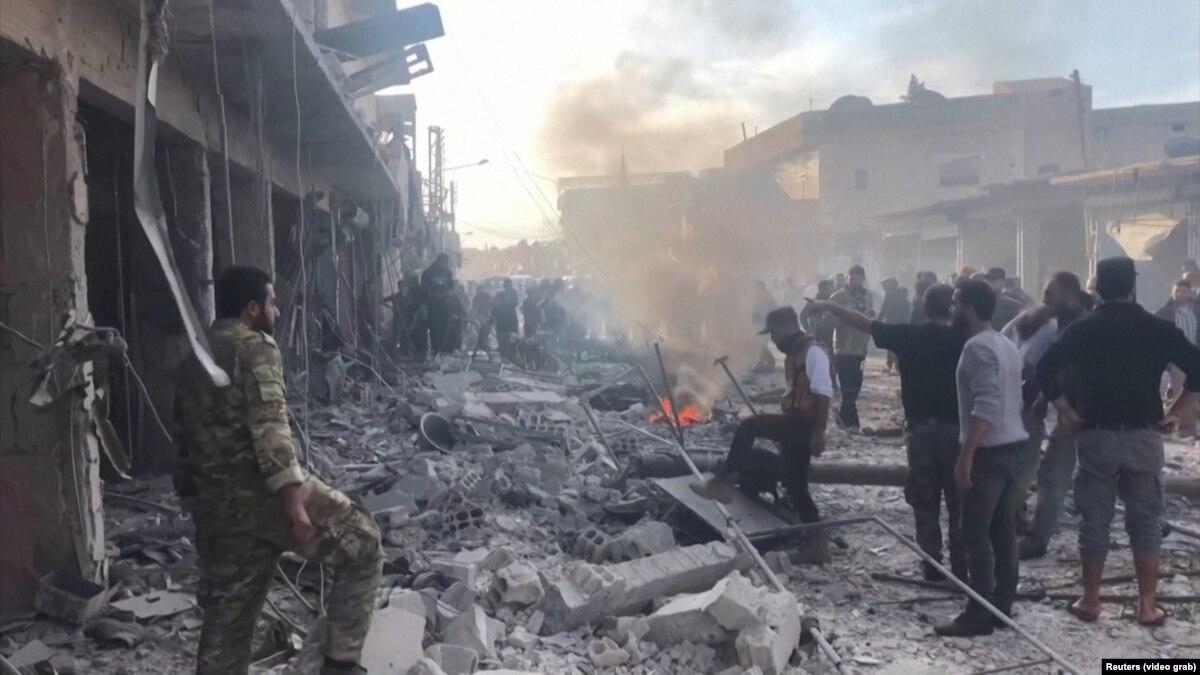 На севере Сирии не менее 13 человек погибли в результате взрыва